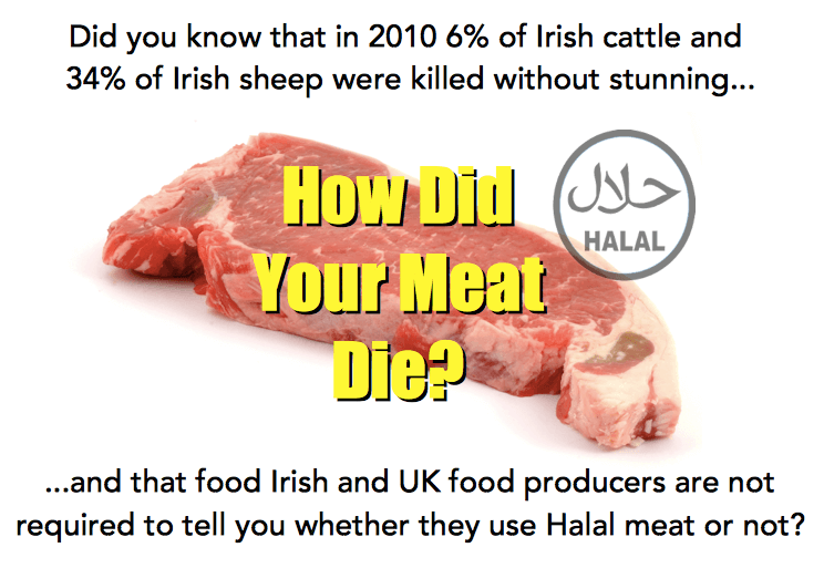 Halal meat in Ireland