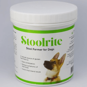 StoolRite stool former for constipation in dogs