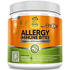 zesty paws allergy and immune bites for itchy dogs