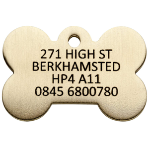 Brass Dog Tags UK