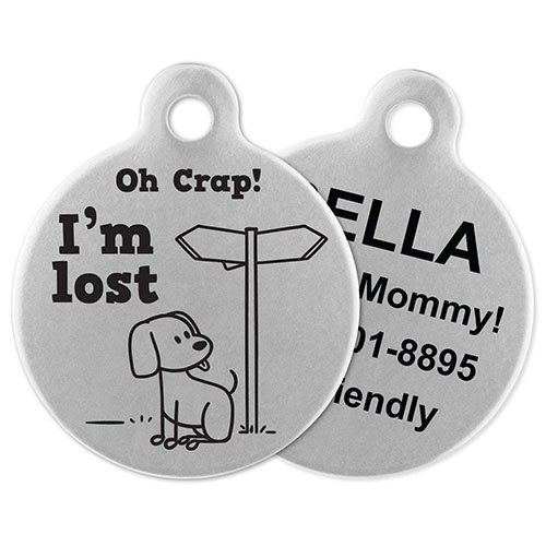 Funny Dog Tags US
