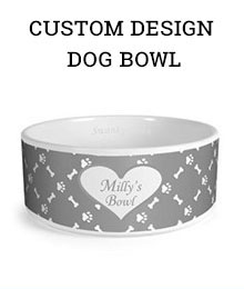 Custom Design Dog Bowl - Amazon