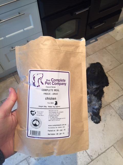 the complete pet company freeze dried dog food
