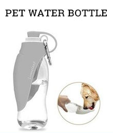 portable pet water bottle - Amazon