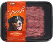 raw dog food recall
