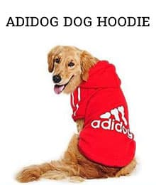 adidog dog hoodie - Amazon