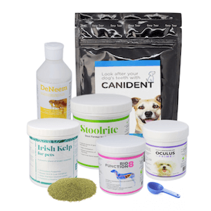 range of seaweed in dogs