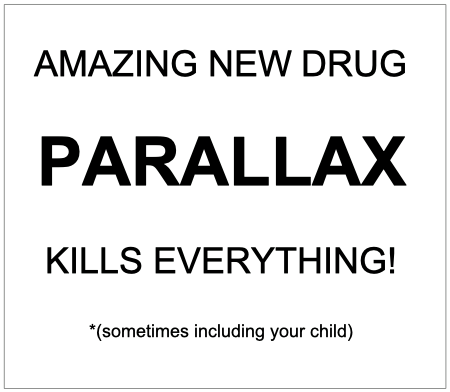 new drug parallax!