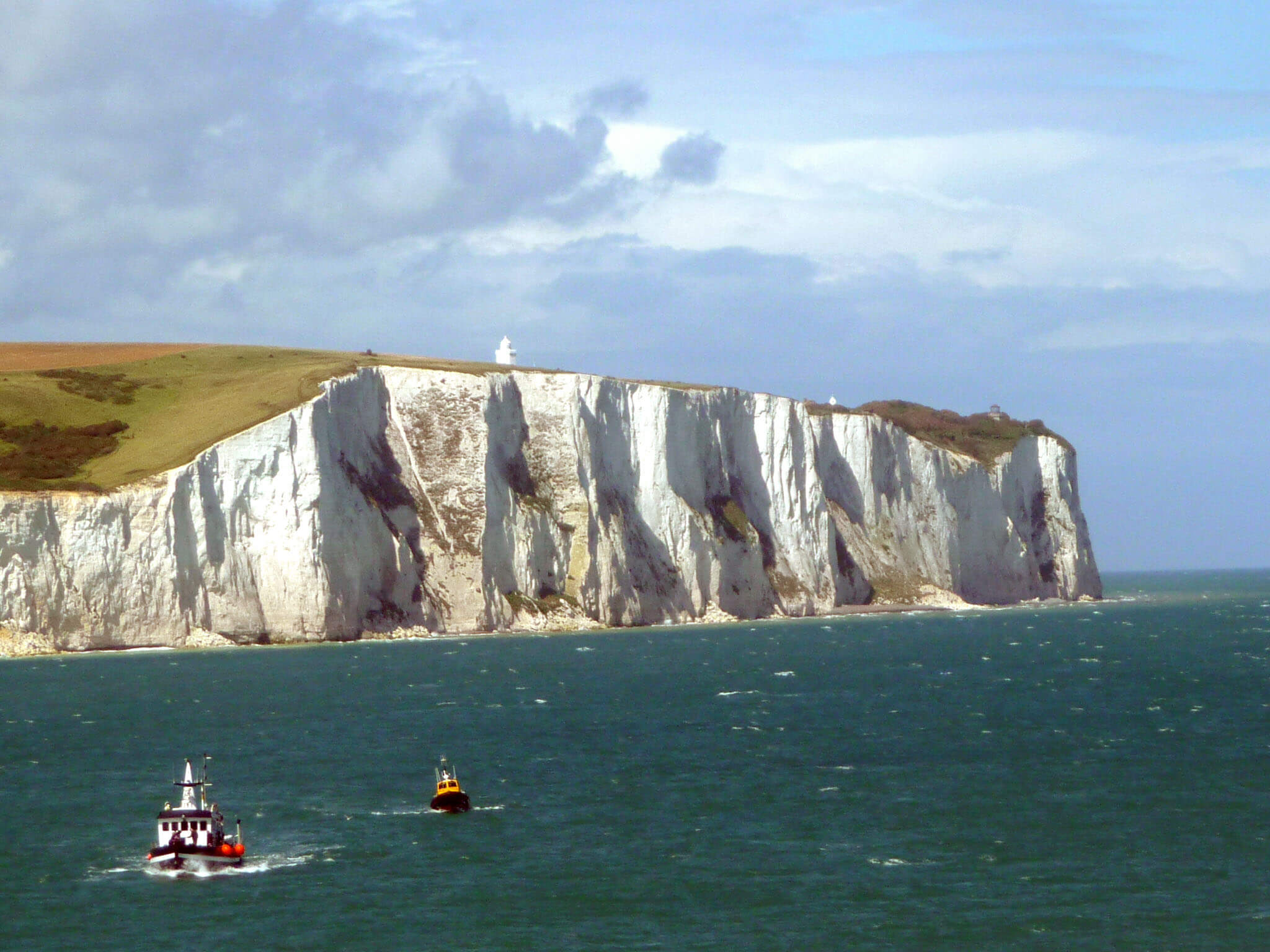 diatomaceous earth is what the white cliffs of dover are made of