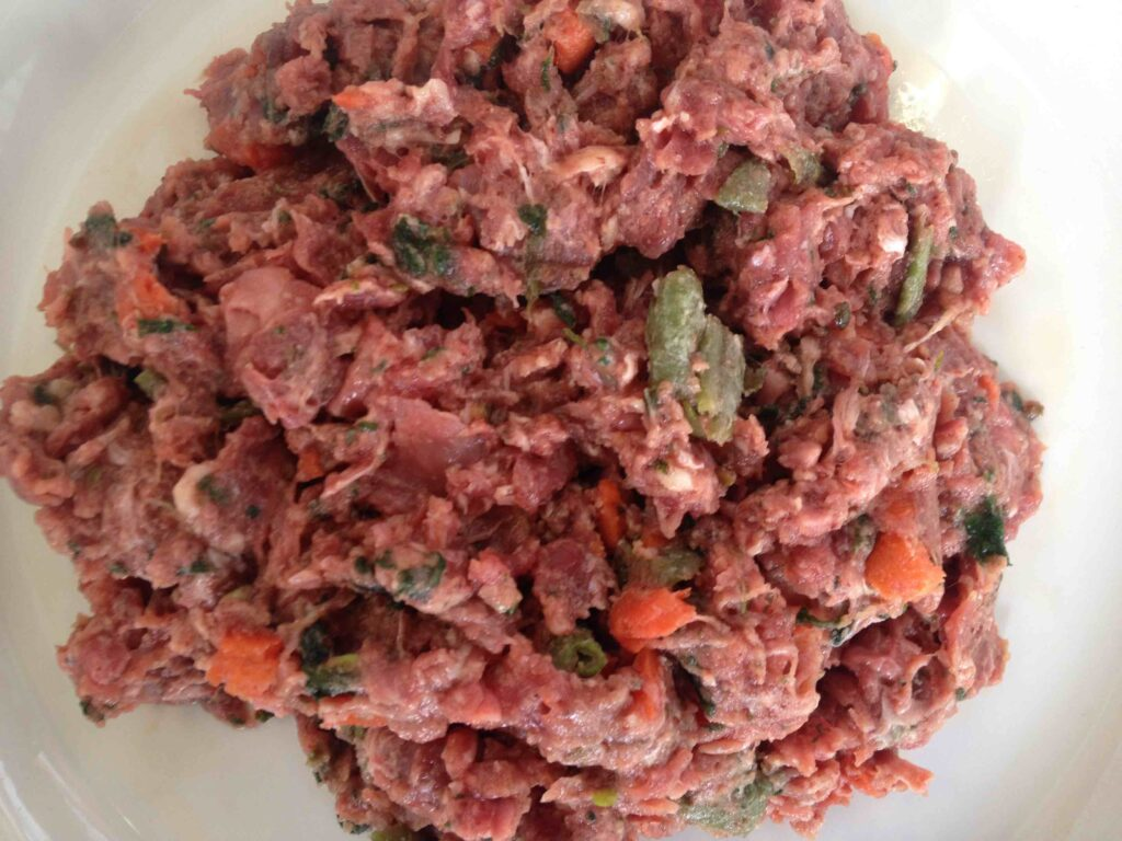 duck raw dog food